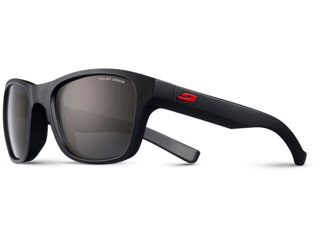 Julbo Reach Polar Sunglasses Junior 6-10Y Matt Black-Gray